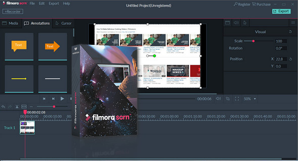 How to Download and Use Filmora Scrn- Latest Screen Capture Tool!