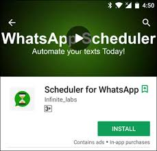How To Schedule WhatsApp Messages On Your Android Device!